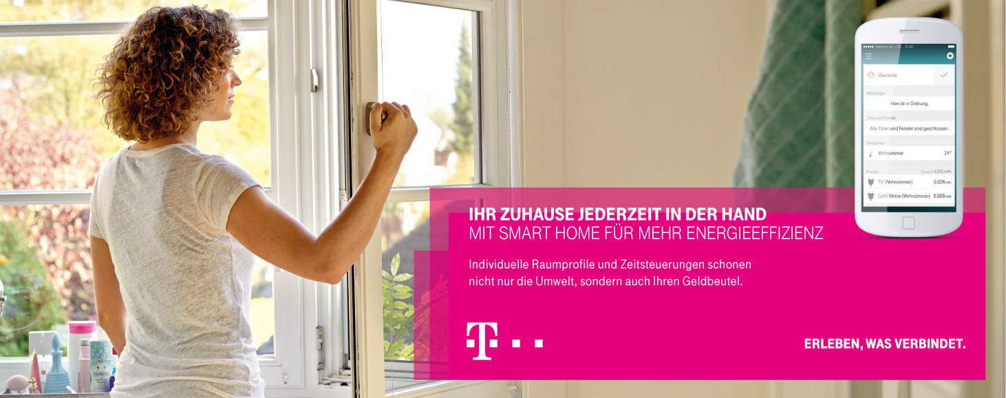 smart home telekom profis. Black Bedroom Furniture Sets. Home Design Ideas