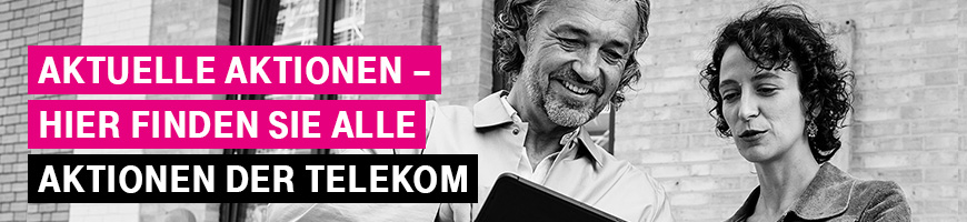 Aktuelle aktionen  Aktuelle Aktionen bei Telekom Profis - Telekom Profis