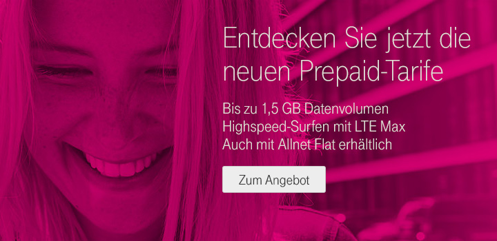 Neue MagentaMobil Start-Tarife