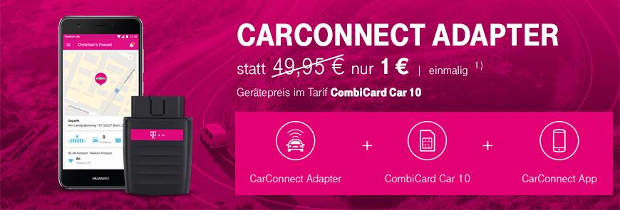 carconnect adapter ger tepreis nur 1 euro bis. Black Bedroom Furniture Sets. Home Design Ideas