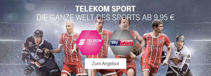 telekom sport zusammen mit sky sport kompakt telekom profis. Black Bedroom Furniture Sets. Home Design Ideas