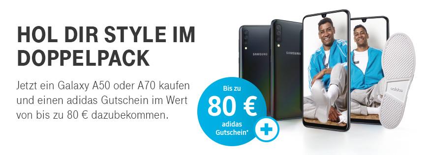 cheaper reasonable price classic shoes Samsung Galaxy A50 oder A70 kaufen und adidas Gutschein ...