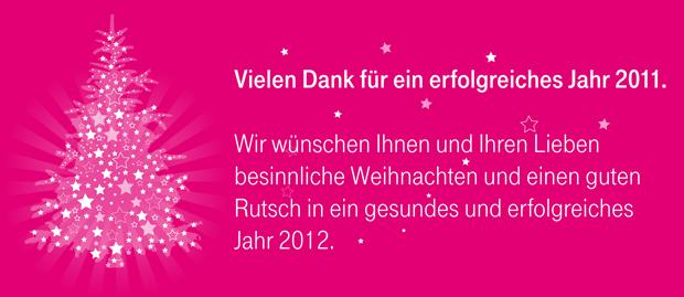Wir wünschen Ihnen frohe Weihnachten! - Telekom Profis