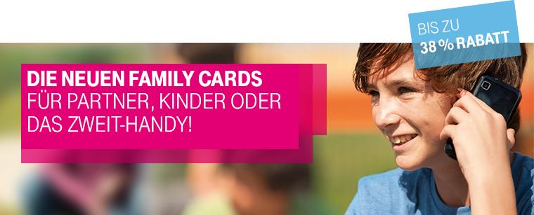 die neuen family cards f r partner kinder oder das. Black Bedroom Furniture Sets. Home Design Ideas